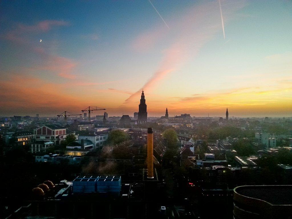Groningen sunset